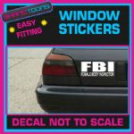 FBI FEMALE BODY CAR WINDOW VINYL STICKER DECAL LAPTOP GRAPHICS NOVELTY GIFT